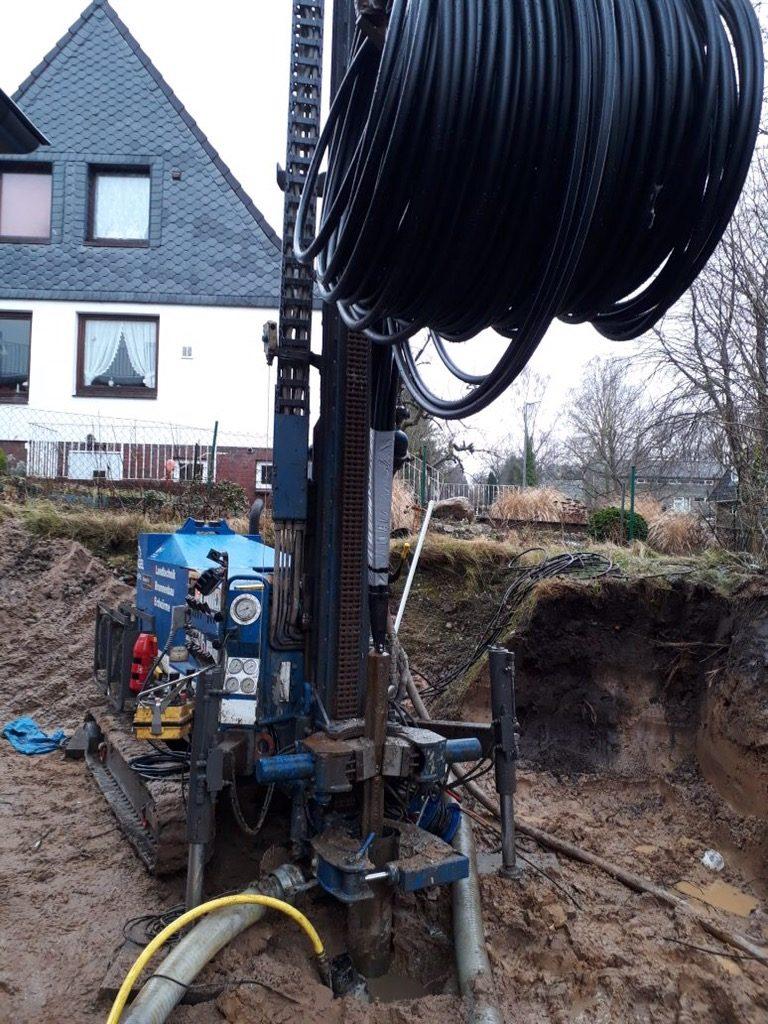 Ahrensburg: innovative Erdwärme für einen Neubau…