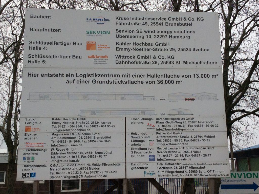 Brunsbüttel, 3 Löschwasserbrunnen DN 150
