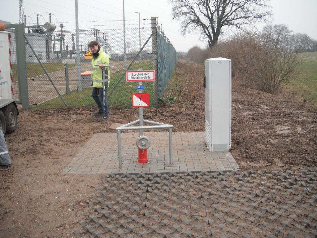 Trent Ostholstein Löschwasserbrunnen DN 175 mit Pumpe