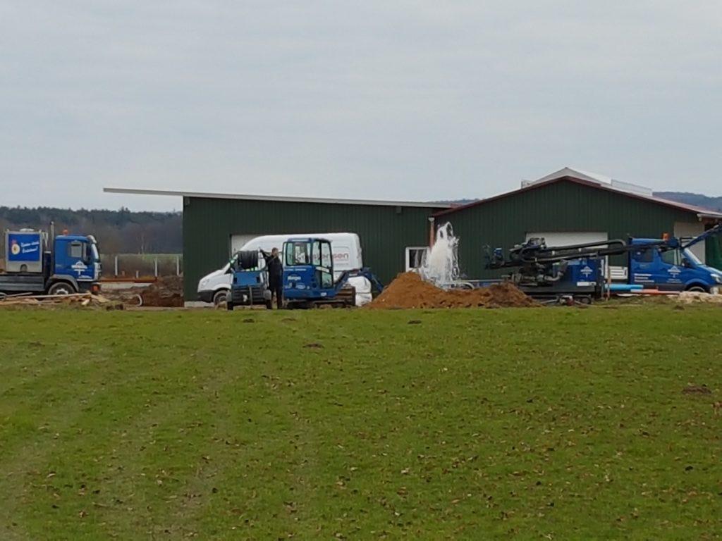 Hohenaspe, Landwirtschaftlicher Betrieb, Versorgungsbrunnen DN 150