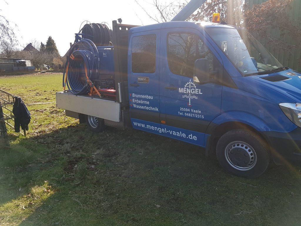 Bornhöved: Überprüfung von 2 Brunnen für Wärmepumpenbetrieb