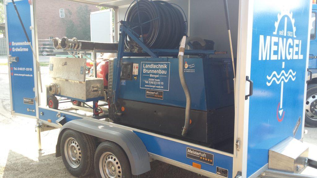 Barmstedt: Baumschulbetrieb, Sanierung Brunnen und Pumpe