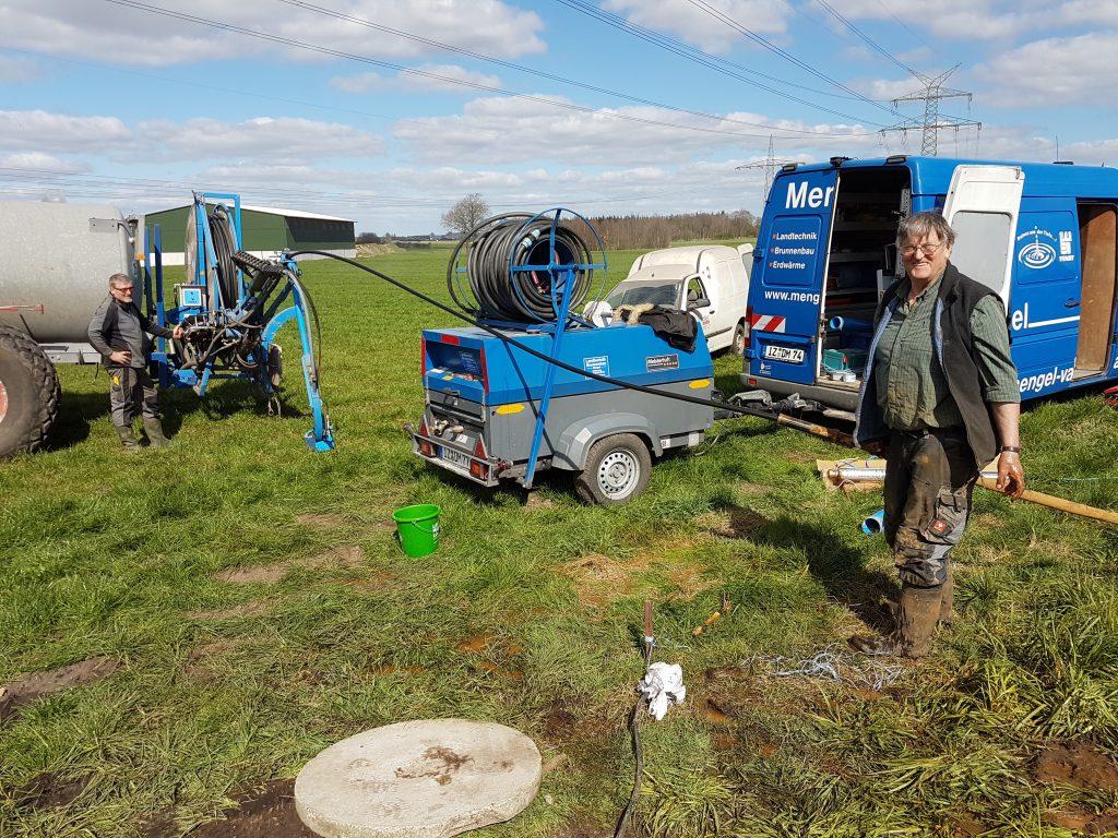 Stafstedt: landwirtschaftliches Unternehmen, Brunnenanlage instand gesetzt.