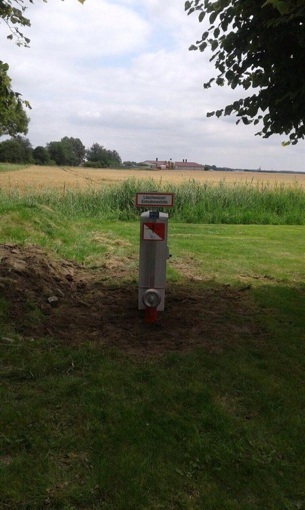 Nordermeldorf: Entnahmestelle Löschwasser