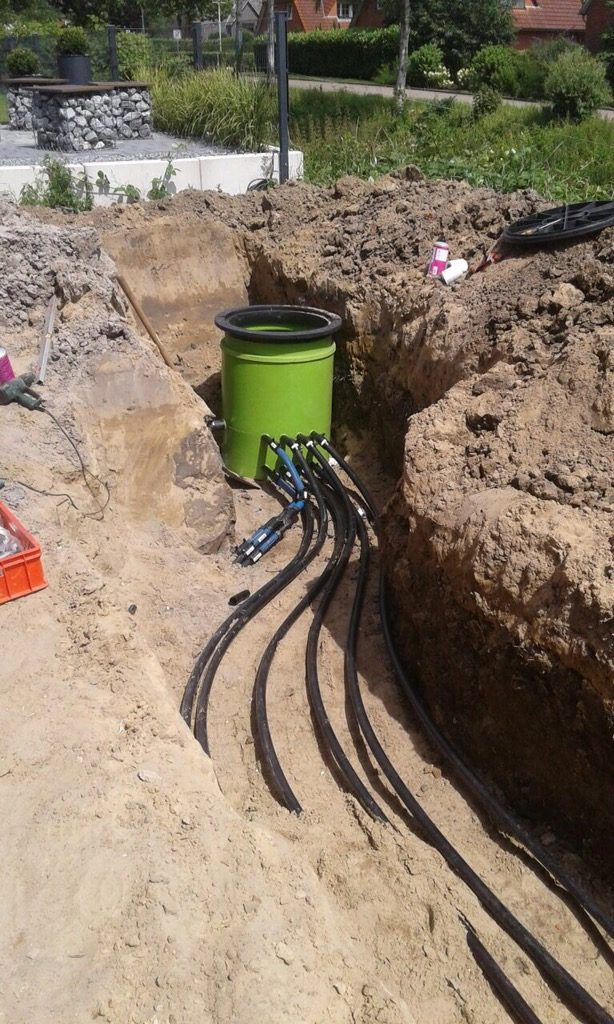 Drochtersen… Erdarbeiten und Rohrleitungsbau