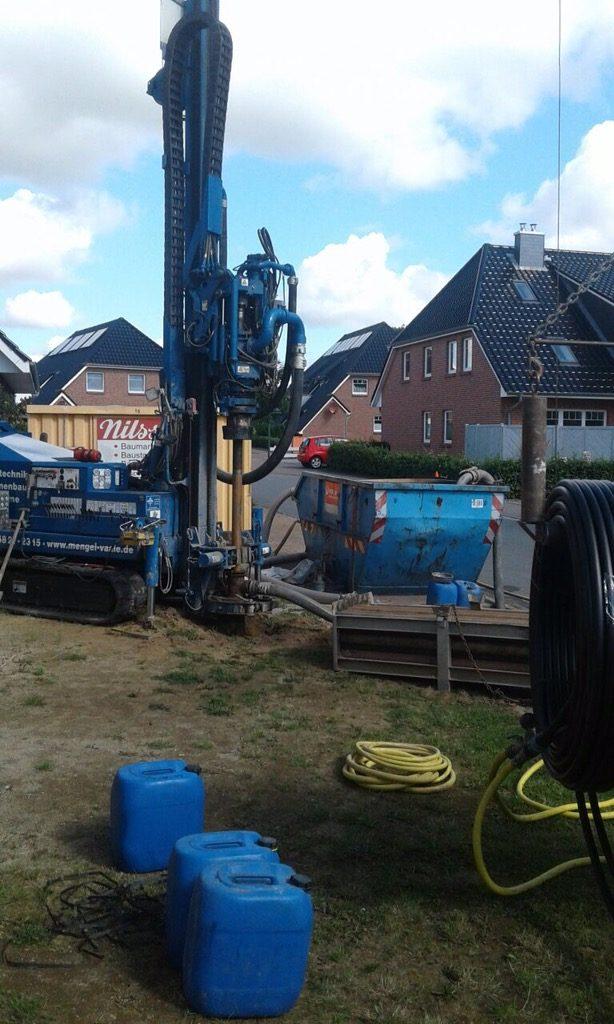 Lohe – Rickelshof: Erdwärme für ein Wohnhaus…