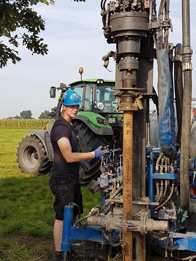 Averfleth: Löschwasserbrunnen zur Sicherung eines landwirtschaftlichen Betriebes…