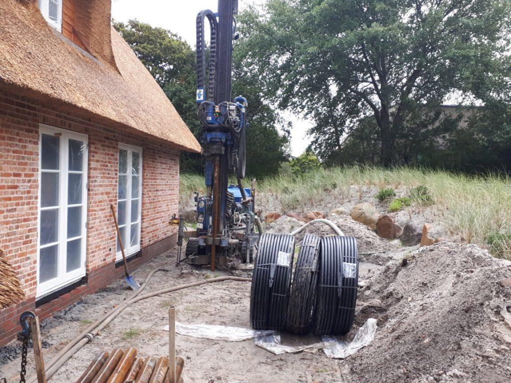 St. Peter Ording: Erdwärme für ein Neubauprojekt…