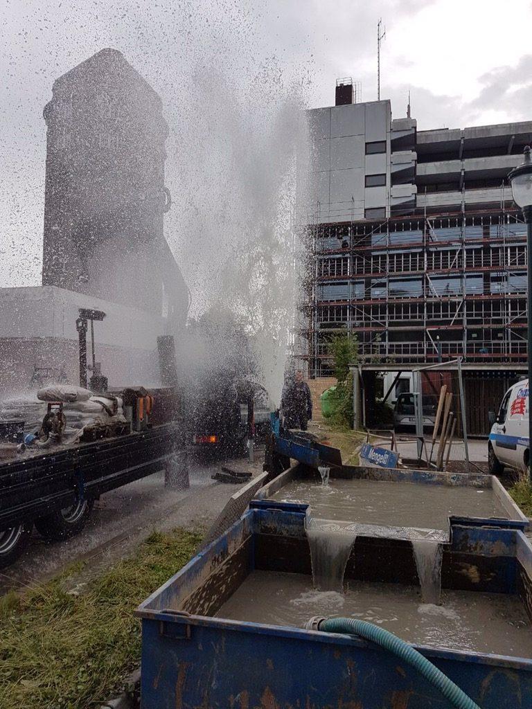 Brunsbüttel: Brandschutzsicherung für ein Krankenhaus mittels 2 Löschwasserbrunnen…