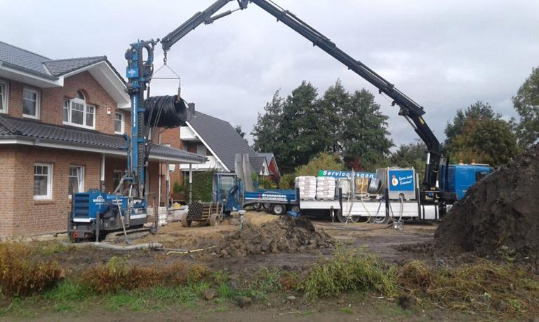Wischhafen: Erdwärme für ein Einfamilienhaus…