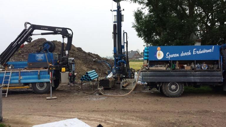 Barlt Dithmarschen: Löschwasserbrunnen für einen landwirtschaftlichen Betrieb…