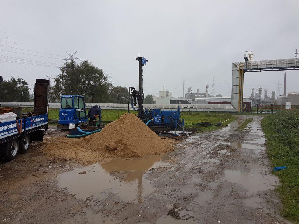 Industriegebiet Büttel: Brandschutzsicherung für einen inovativen Stromspeicher…