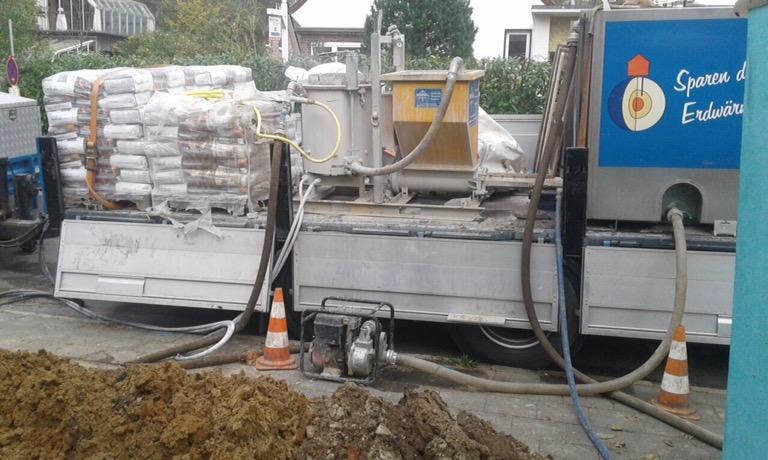 Reinbeck: Erdwärme für ein Einfamilienhaus