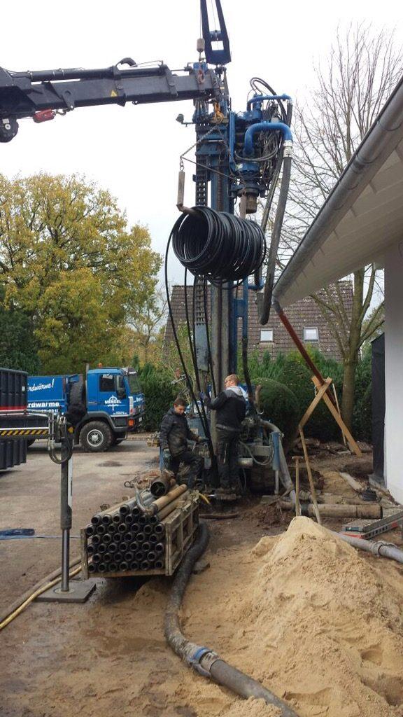 Ottenbüttel: Geothermiebohrungen für Neubau Wohnhaus