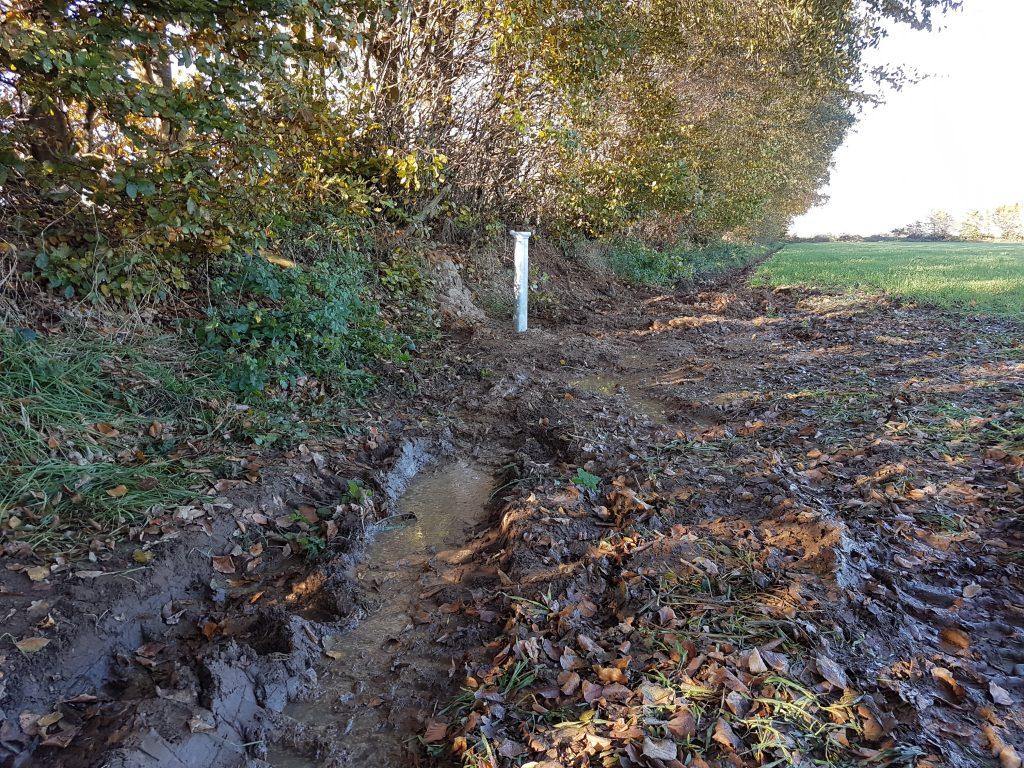 Peissen: Baugrunderkundung sowie Bau einer Grundwassermessstelle…