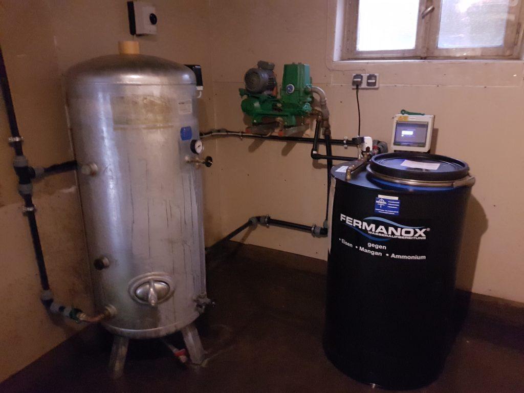 Mühlenbarbek… Wassertechnik und Wasseraufbereitung
