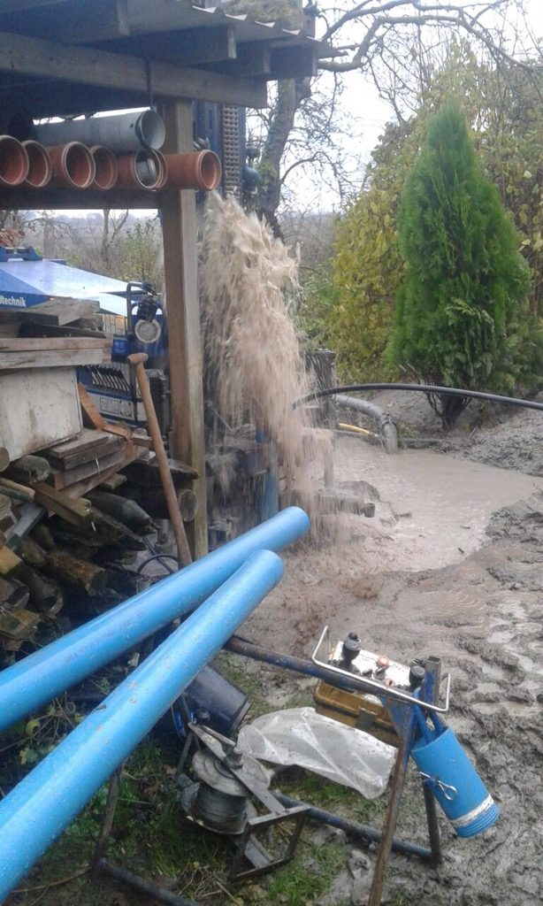 Grebin… Trinkwasserversorgungsbrunnen inkl. Pumpentechnik und Wasseraufbereitung…