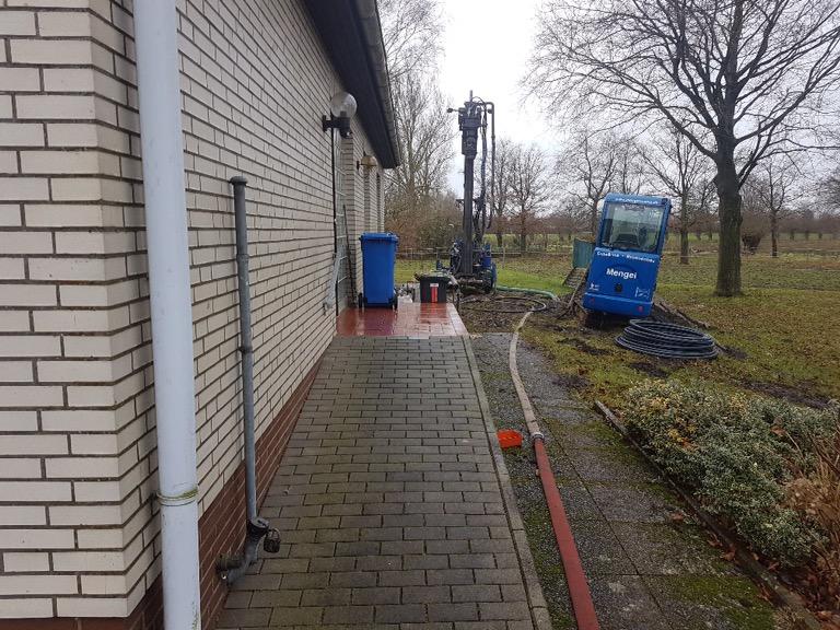 Ellerhoop: Bau eines Trinkwasserversorgungsbrunnen für ein Einfamilienhaus…