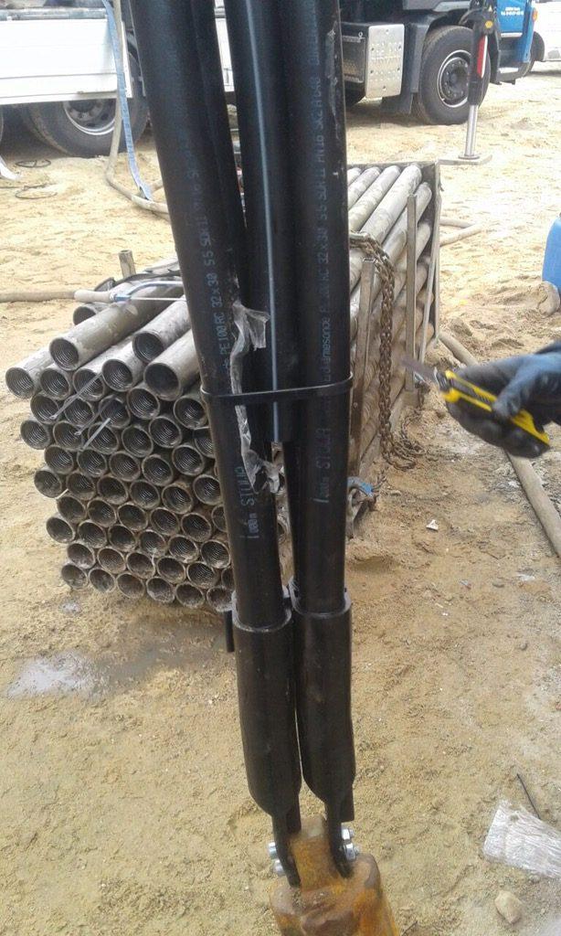 Buxtehude… Erdwärmebohrungen für einen Neubau