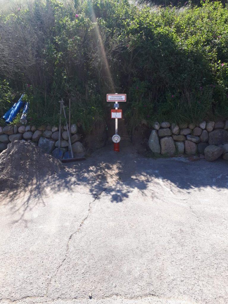 Auf der schönen Nordseeinsel Sylt… Bau von 2 Löschwasserbrunnen für Saugbetrieb und Entnahmestelle