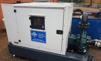 Neues leistungsfähiges Pumpenaggregat mit einer max. Leistung von 5.400 Liter/min