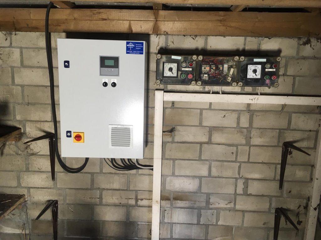 Rellingen Baumschule… Umbau und Optimierung von 2 Brunnenpumpen die über einen Brunnen betrieben werden auf eine energetisch optimierte Frequenzsteuerung…