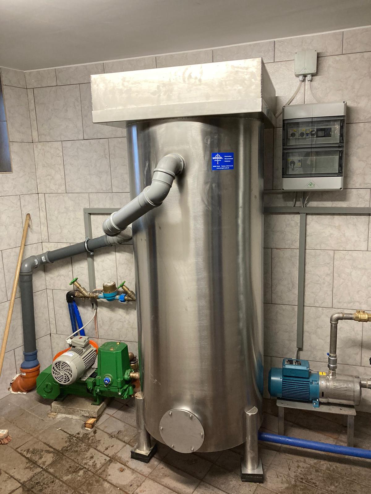 Wasseraufbereitungsanlage aus Edelstahl