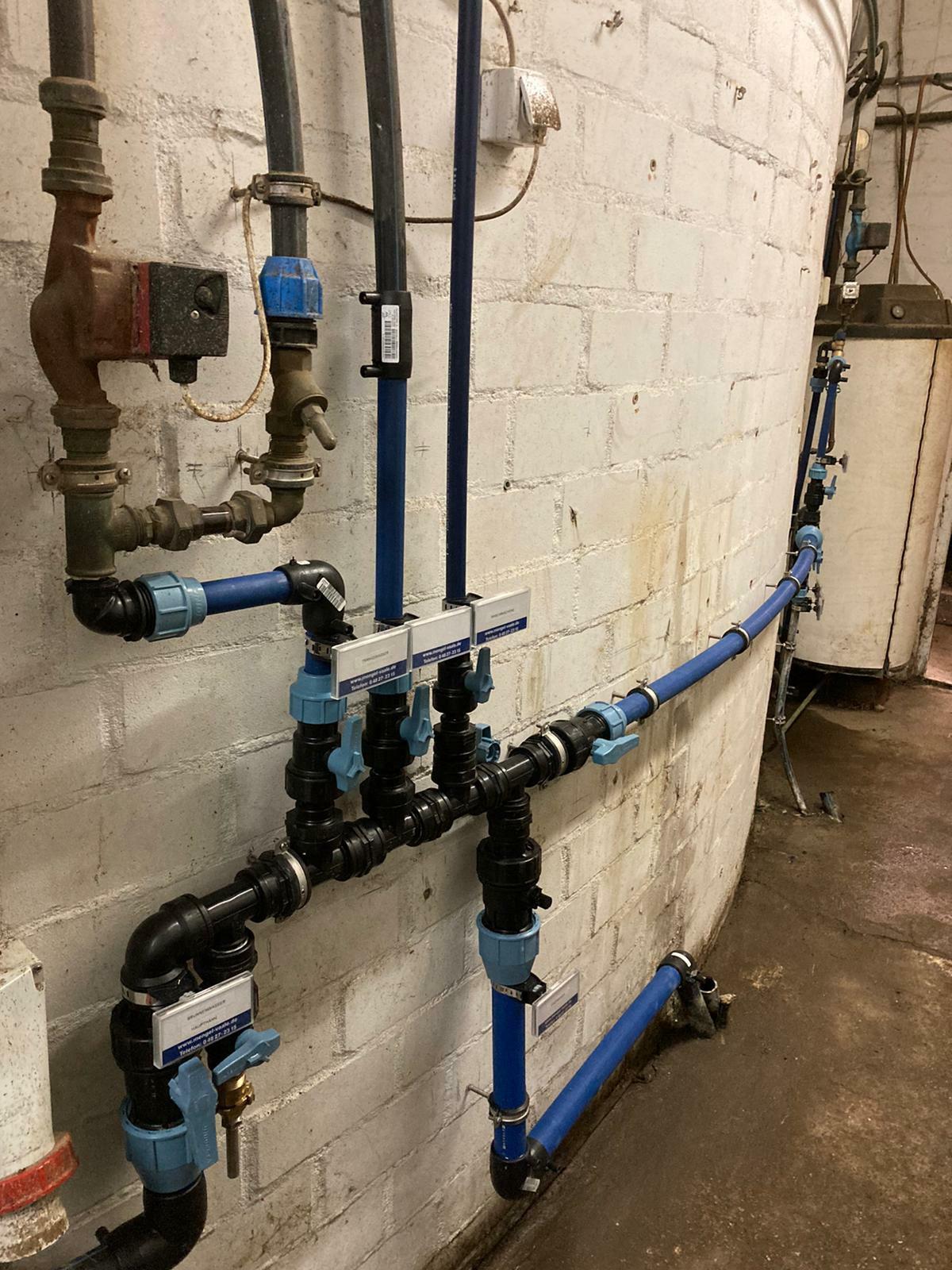 Wasserverteilung erneuert